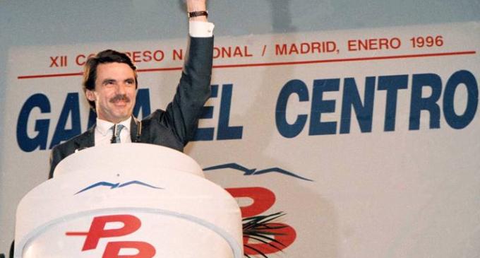 Albert Rivera se declara de centro, como hicieron Manuel Fraga y José María Aznar