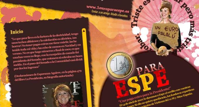 Cuando Esperanza Aguirre se quejaba de lo que le costaba pagar la luz