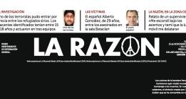 'La Razón' no se disculpa por la falsa foto del terrorista y culpa a Internet