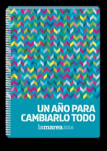 portada agenda 2016 La Marea