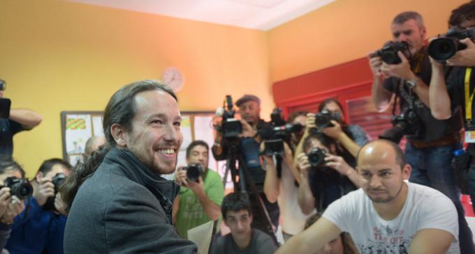 """Pablo Iglesias: """"Hoy ha nacido una nueva España"""""""