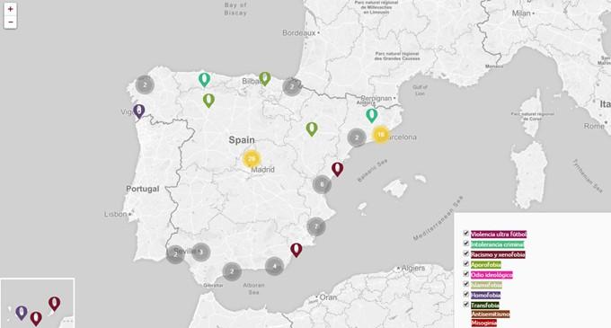 Crímenes de odio en España: 88 víctimas mortales en 25 años