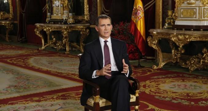 """Felipe VI: """"Ser y sentirse español es un orgullo muy legítimo"""""""