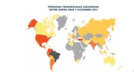 Más de 1.700 personas transexuales fueron asesinadas entre 2008 y 2014