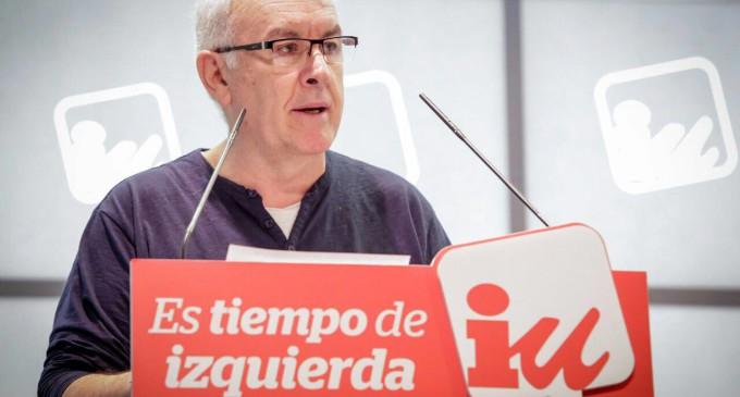 Cayo Lara culpa a los medios y a Podemos de sus malos resultados electorales