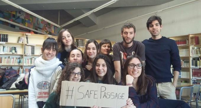 """Marchas en Europa y Norteamérica para pedir un """"pasaje seguro"""" a los refugiados"""