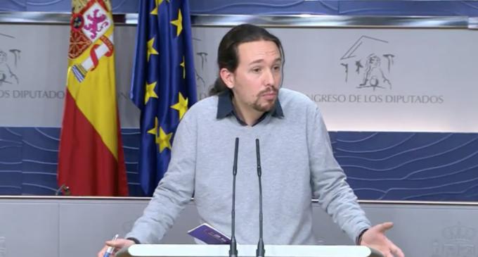 """Iglesias """"quiere pensar"""" que Sánchez preferirá un gobierno con Podemos e IU"""