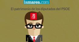 El patrimonio de los diputados del PSOE
