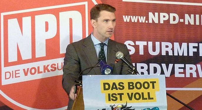 Frank Franz, president del partit neonazi NPD