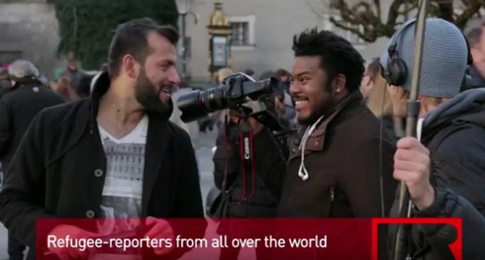 Refugee.tv, periodismo con la perspectiva de refugiados