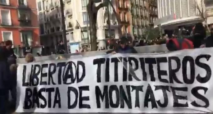 """Denuncia ante la ONU por la """"detención arbitraria"""" de los titiriteros"""