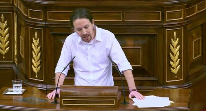 Discurso íntegro de Pablo Iglesias en el Congreso