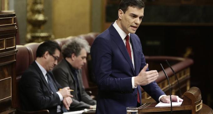 Pedro Sánchez fracasa y la izquierda le da la espalda