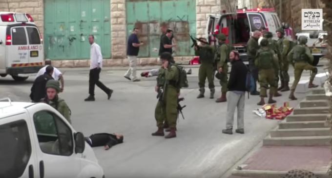 """El soldado israelí que ejecutó a un palestino será juzgado sólo por """"homicidio involuntario"""""""