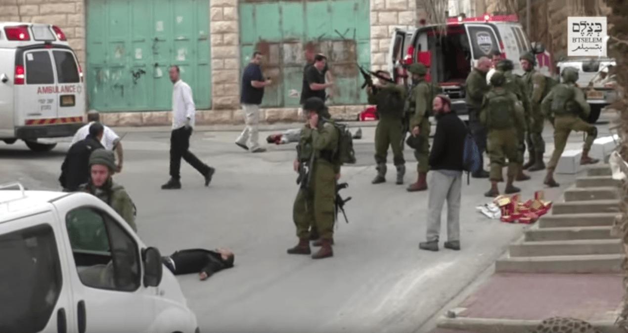El soldado israel que ejecut a un palestino ser juzgado s lo por homicidio involuntario for Juzgado togado militar