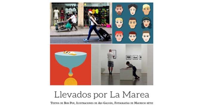 Presentación en Barcelona de 'Llevados por La Marea', de Bob Pop