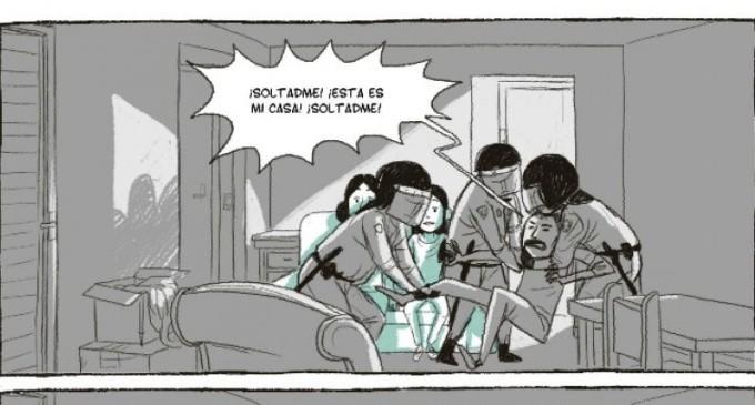 'Aquí vivió': el drama de los desahucios, en clave de cómic