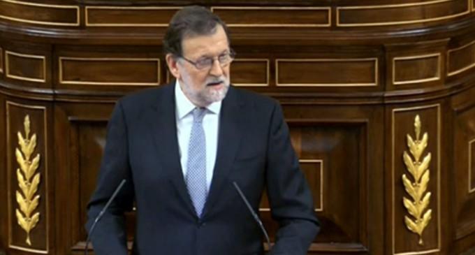 """Rajoy a Sánchez: """"Nos ha entretenido un mes para nada"""""""