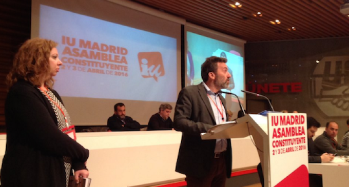 Mauricio Valiente y Chus Alonso, elegidos portavoces de IU en Madrid