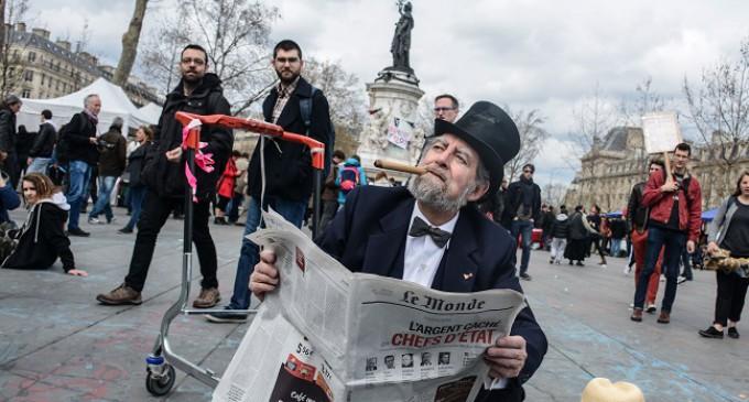Fin de semana crucial para el movimiento de indignados franceses Nuit Debout