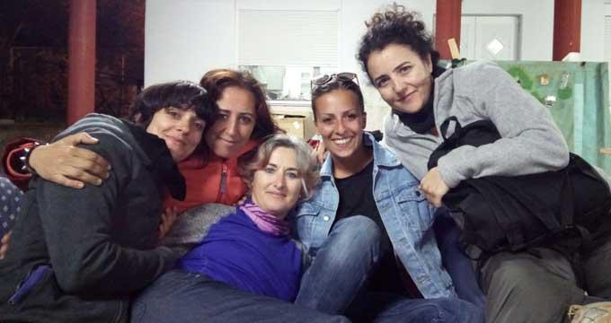 lesbos refugiados gracia maqueda