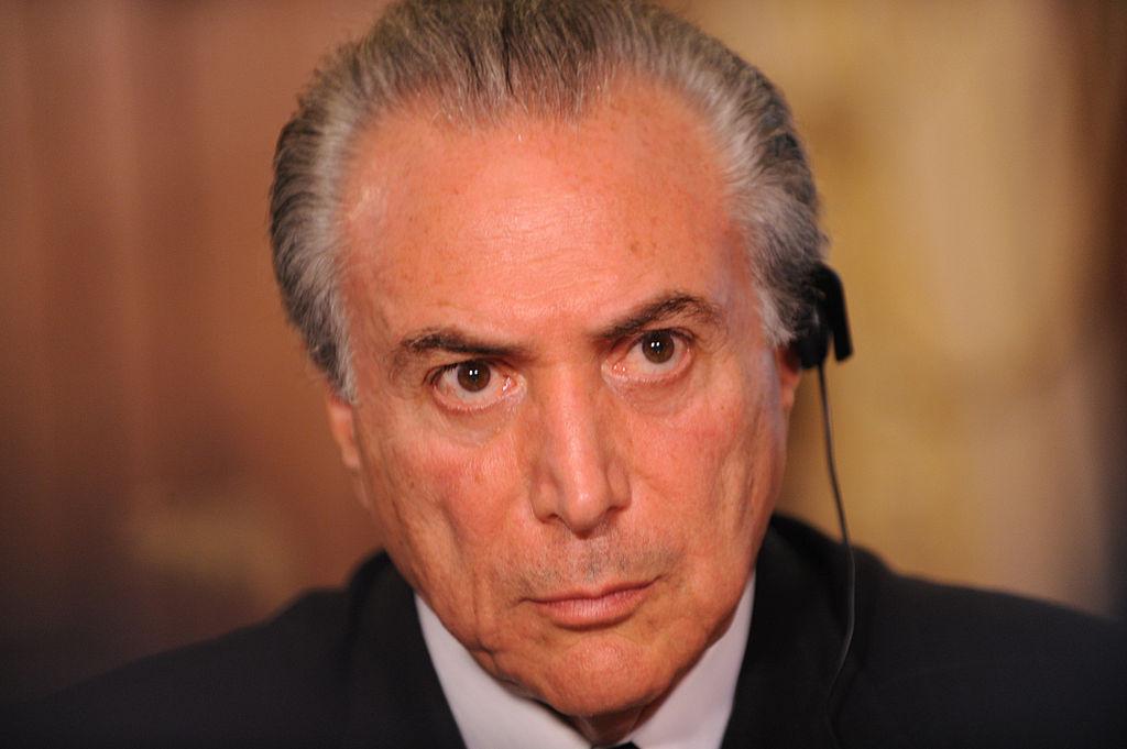 El conservador Michel Temer, presidente de Brasil tras el 'impeachment'. FOTO: Foreign and Commonwealth Office