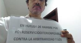 Falta de respuesta política ante las denuncias del trabajador del Servicio Exterior en huelga de hambre