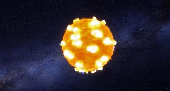 Muerte de una supernova