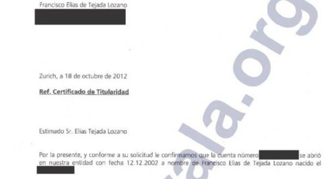 El exembajador español en Iraq mantuvo cuentas opacas en Suiza y EEUU al menos hasta 2012