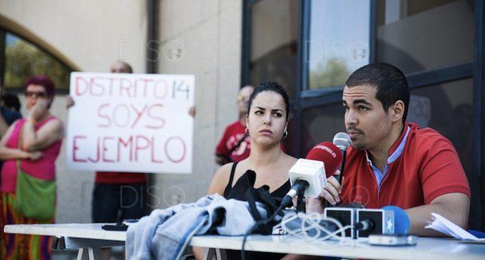 El colectivo antifascista Distrito 14 denuncia una persecución policial y mediática