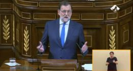 """Rajoy se presenta como la opción más viable con un discurso """"continuista y soporífero"""", según la oposición"""