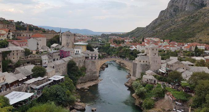 Sarajevo y el puente de Mostar