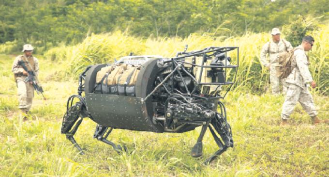 Robots programados para matar
