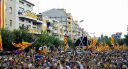 """Nueva manifestación multitudinaria para exigir el """"derecho a decidir"""" de Cataluña"""