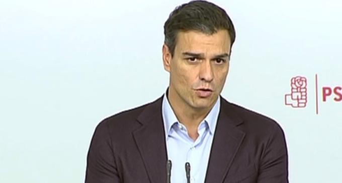 """Pedro Sánchez dimite: """"Hoy más que nunca hay que sentirse orgulloso de militar en el PSOE"""""""