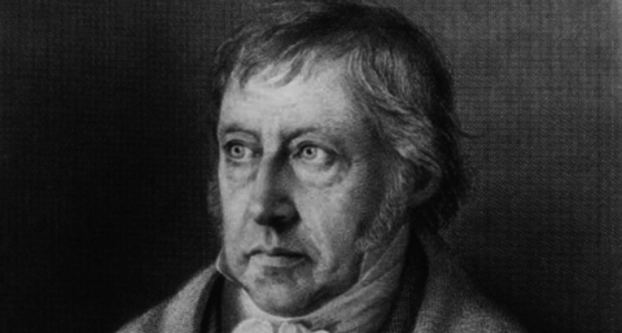 Volver a Hegel