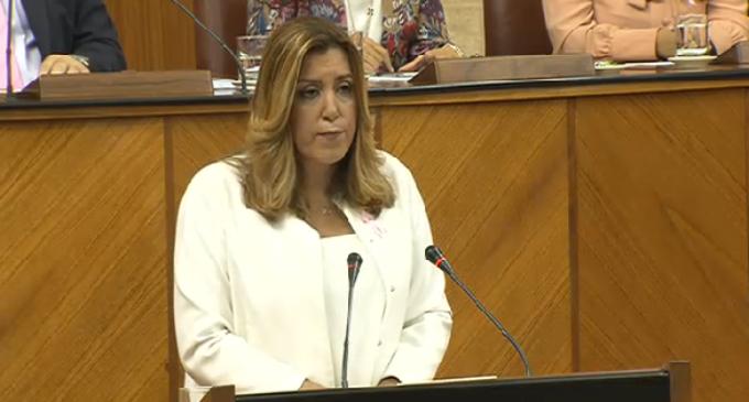 """Susana Díaz: """"Necesitamos un gobierno ya, más allá de cómo se haga"""""""