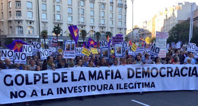 La manifestación Rodea el Congreso revive la indignación en las calles