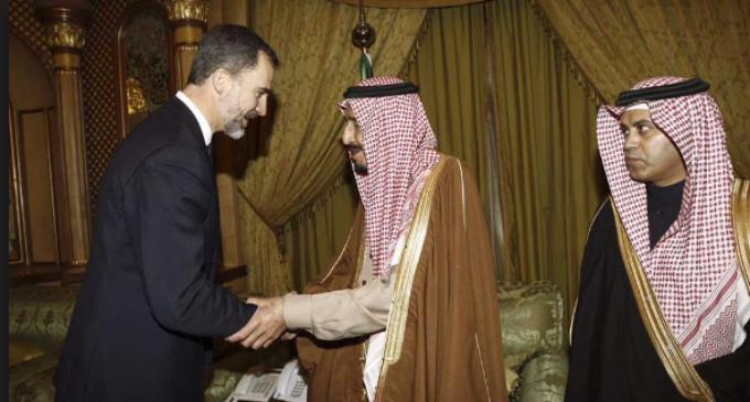 El giro de Felipe VI con Arabia Saudí