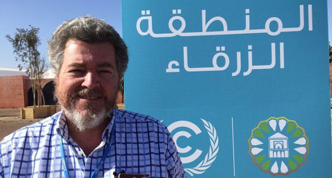 """López de Uralde en la COP22: """"Tengo la sensación de que esto se ha empantanado"""""""