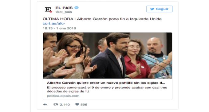 Noticias falsas en los medios de comunicación españoles en 2016