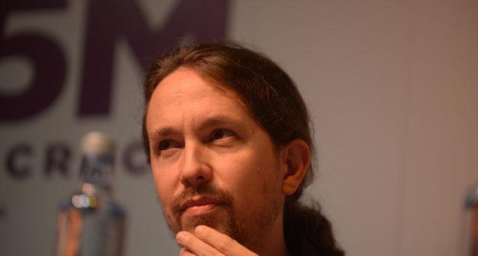 """Pablo Iglesias: """"Carlos Marx preferiría el eje arriba-abajo"""""""
