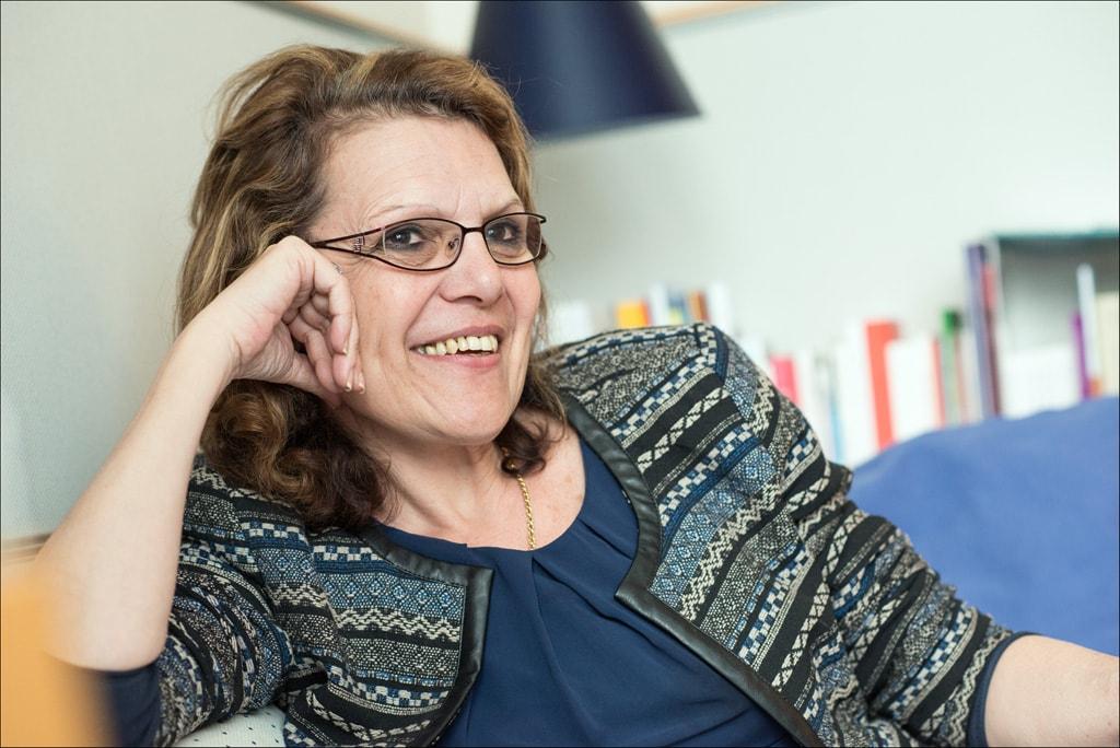 La eurodiputada Marie-Christine Vergiat. FOTO: Parlamento Europeo.