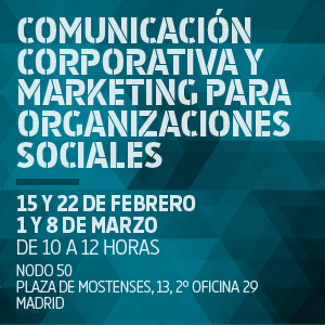 Cursos La Marea: comunicación corporativa y marketing para organizaciones sociales