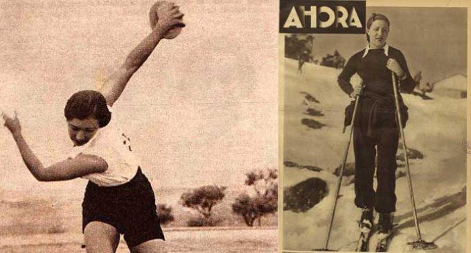 Un libro devolverá a la historia los logros de Margot Moles, la atleta republicana