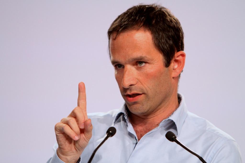 Benoît Hamon, nuevo candidato del Partido Socialista francés a la presidencia.