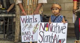 """Tribu siux de Standing Rock a Trump: """"Crear otro Flint no hará grande a EEUU otra vez"""""""