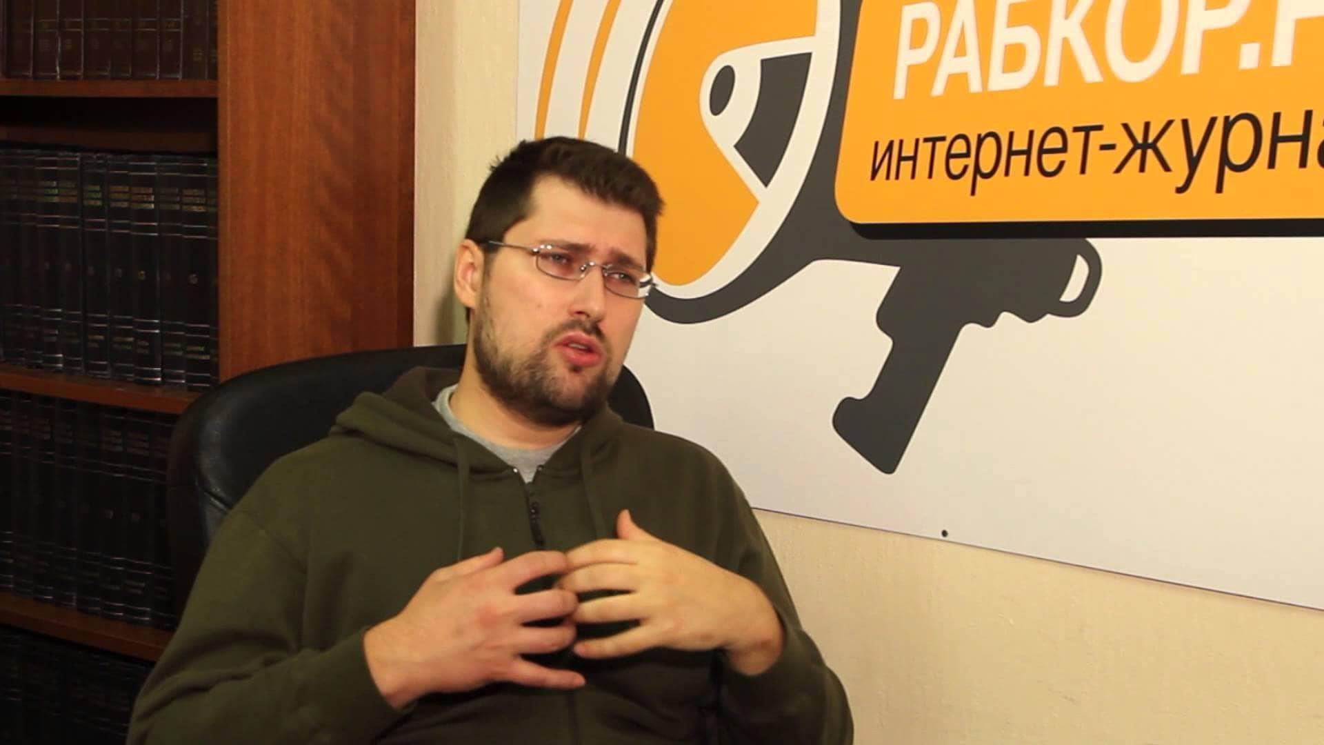 El economista Vitali Koltashov