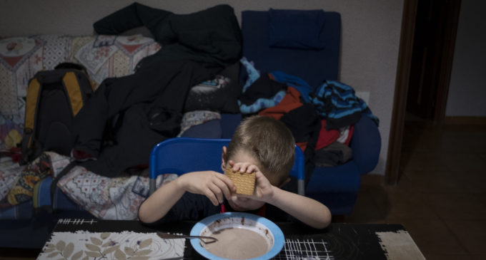 La crisis dispara la pobreza infantil en España