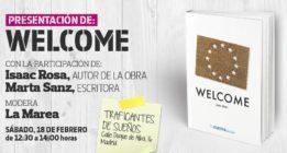 Presentación de 'Welcome', de Isaac Rosa